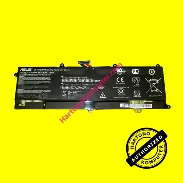 Baterai Asus X201 X202 ORI-0