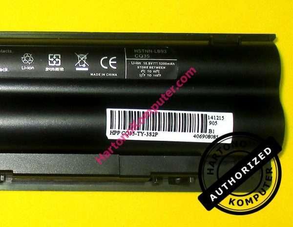 Baterai HP Pavilion DV3 CQ35 OEM-71