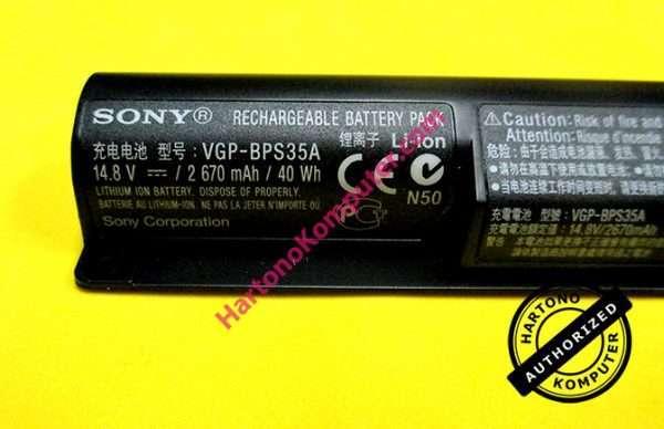 Baterai Sony BPS35 Original-216