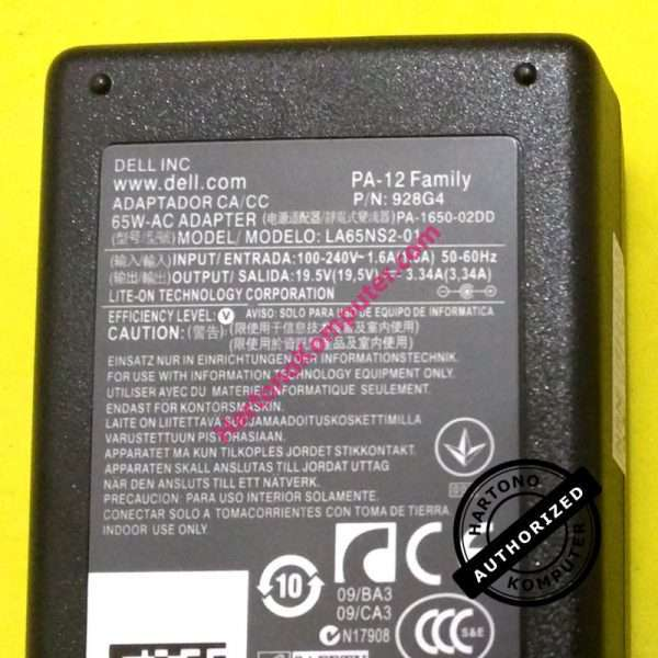 Charger DELL 19.5V 3.34A-508