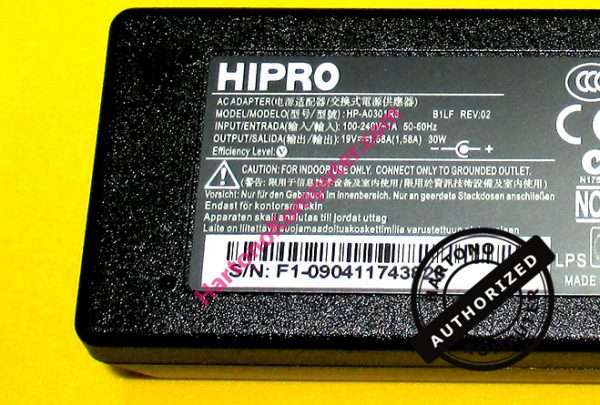 Charger Hipro 19V 1.58A-218