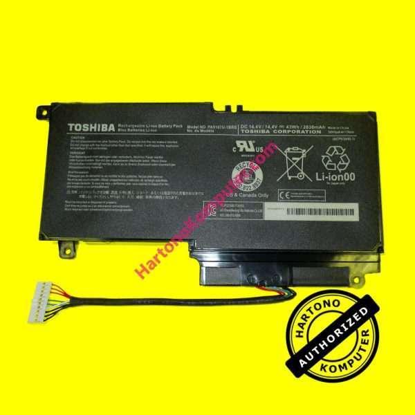 Baterai Toshiba L45D L50 L55 P50 P55 PA5107 ORI-0