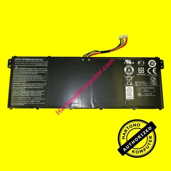 Baterai Acer Chromebook 13 Aspire E3-111 TravelMate B115-M AC14B8K-0
