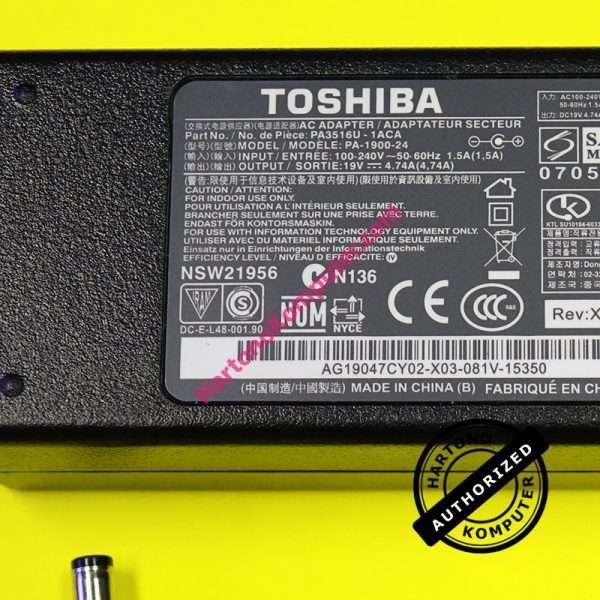Charger Toshiba 19V 4.74A-416