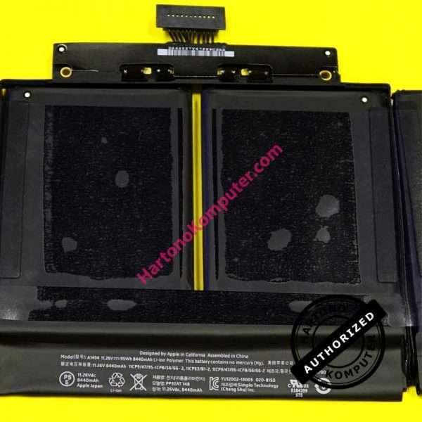 """Baterai Apple Macbook Pro 15"""" Retina A1398 A1494-420"""