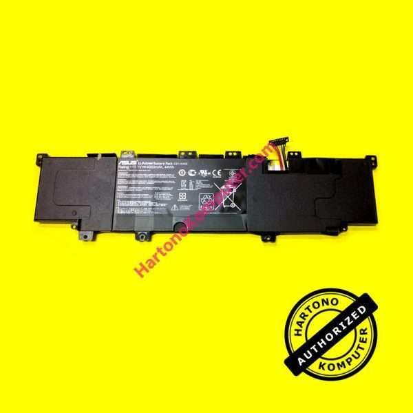 Baterai Asus C31-X402 VivoBook S300 S400 ORI-0