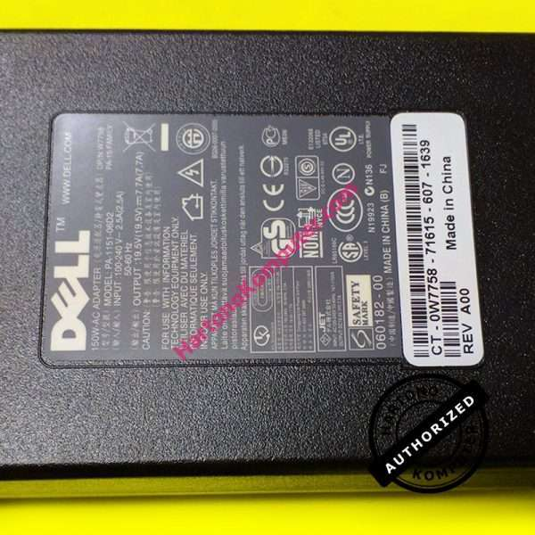 Charger Dell Alienware 150W 19.5V 7.7A-462