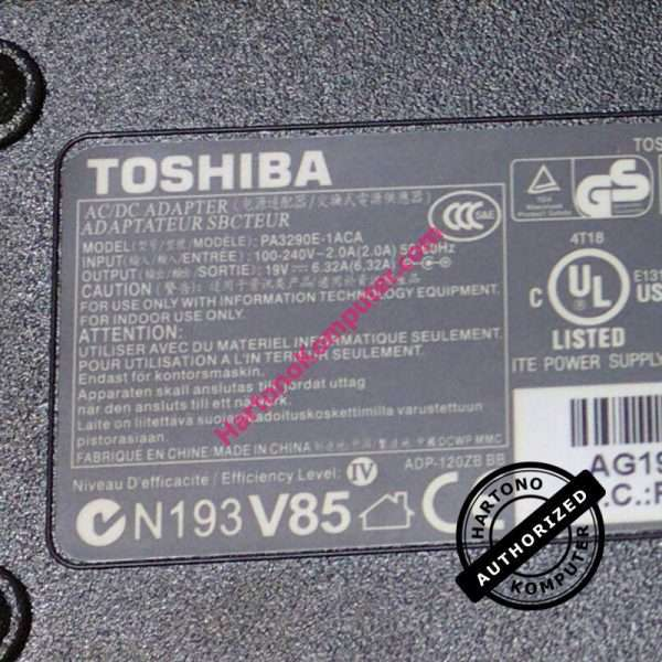Charger Toshiba 19V 6.32A -120W-466