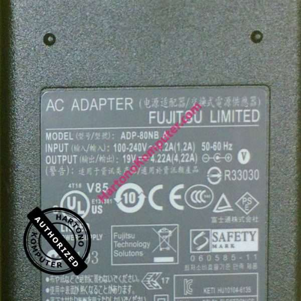 Charger Fujitsu 19V 4.22A-487
