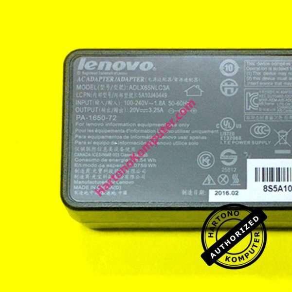 Charger Lenovo 20V 3.25A Small Plug-489